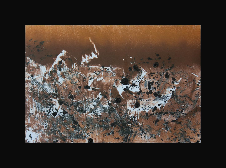 Przemek Kret - Abstracted LAndscape (Ochre I)