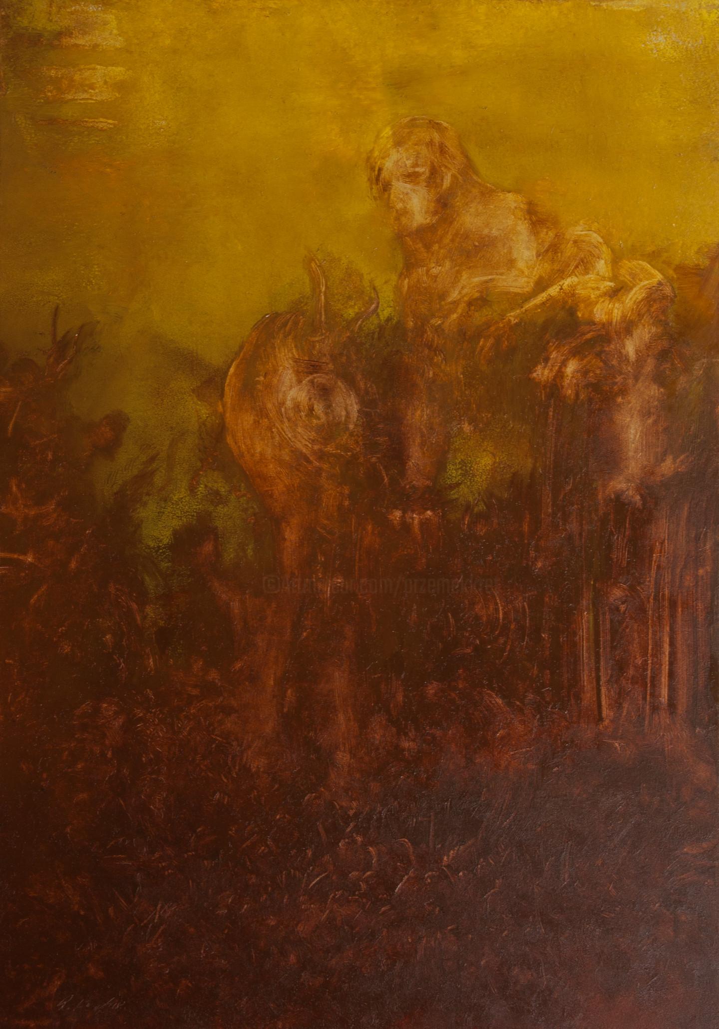 Przemek Kret - Beast of Burden (unburdening Rilke)
