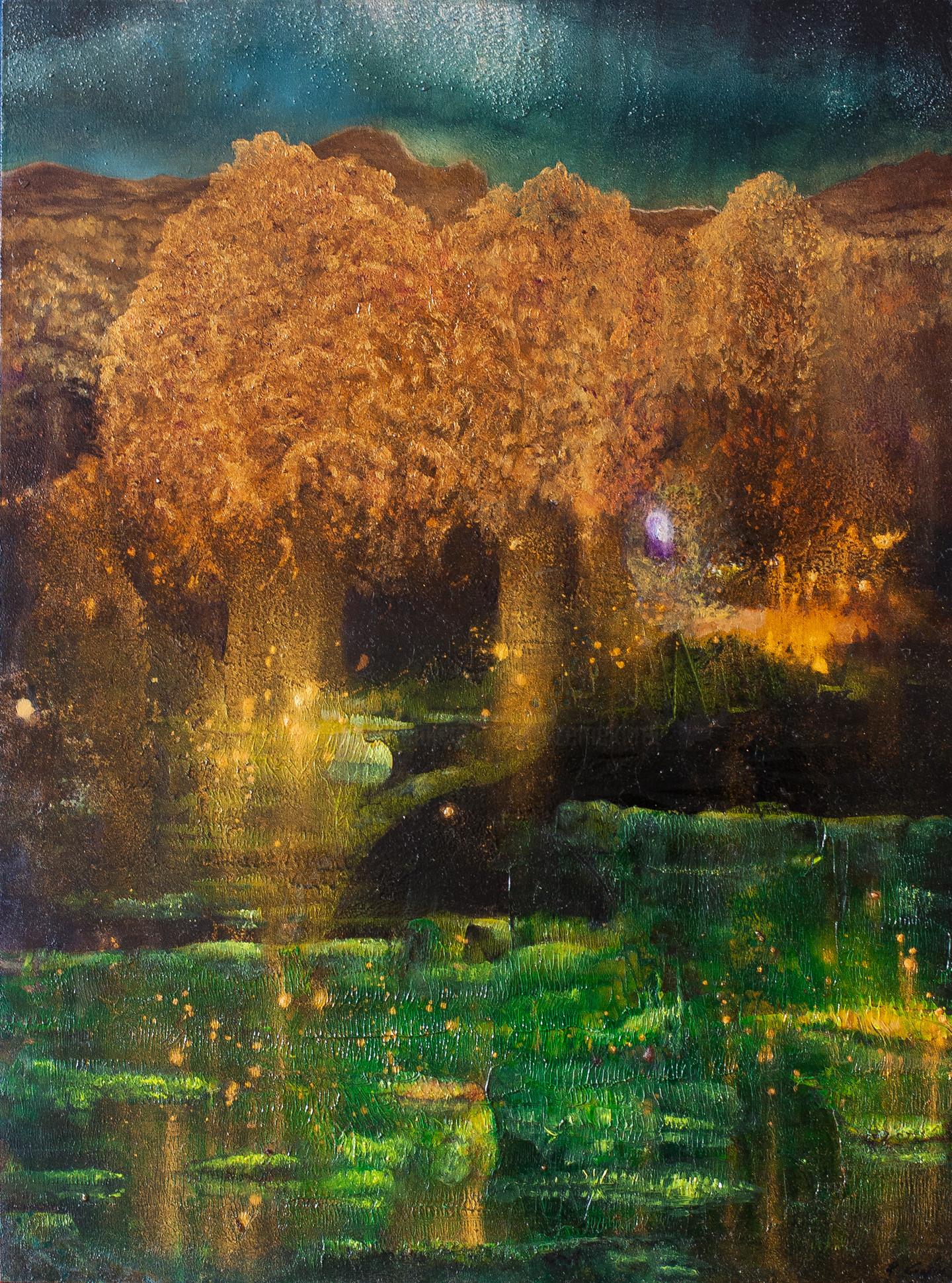 Przemek Kret - Fireflies at the Aurora Lake