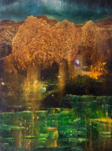 Fireflies at the Aurora Lake