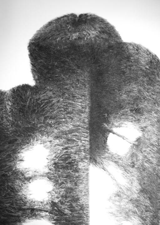 Przemek Kret - Furry abstract, Movement II